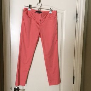 Salmon ankle trousers